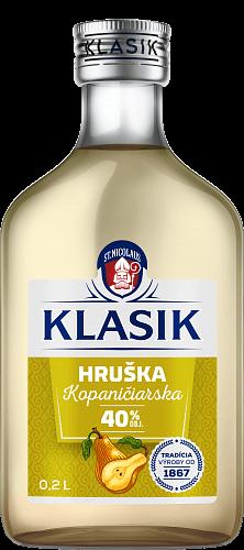KLASIK Kopaničiarska Hruška 40% 0,2l