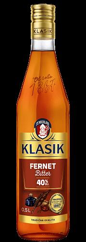KLASIK Fernet Bitter likér 40% 0,5l