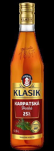 KLASIK Karpatská horká likér 25% 0,5l