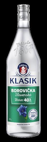 KLASIK Slovenská Borovička Horec 40% 1l