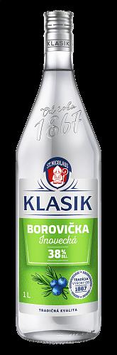 KLASIK Borovička inovecká 38% 1l