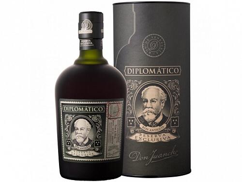 Diplomático Reserva Exklusiva 12y rum 40% 0,7l darčekové balenie