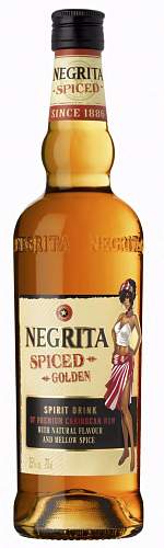 NEGRITA Spiced rum 35% 0,7l