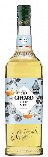 GIFFARD Honey - medový sirup 1l