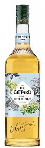 GIFFARD Elderflower - bazový sirup 1l