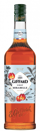 GIFFARD Cherry Plum - sirup mirabelka 1l