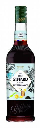 GIFFARD Earl Grey Tea - sirup čierny čaj Earl Grey 0,7l