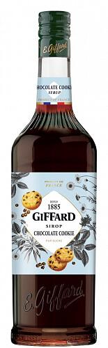 GIFFARD Chocolate Cookie - sirup čokoládové sušienky 1l