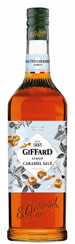 GIFFARD Salted Caramel - sirup slaný karamel 1l