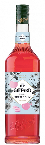 GIFFARD Bubble Gum - sirup žuvačka 1l