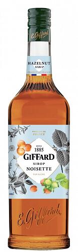 GIFFARD Hazelnut - sirup lieskový orech 1l