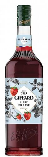 GIFFARD Strawberry - jahodový sirup 1l