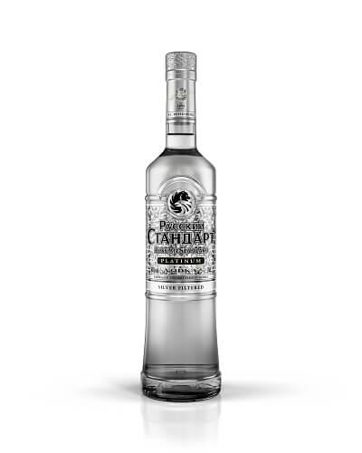 Russian Standard Platinum vodka 40% 0,7l
