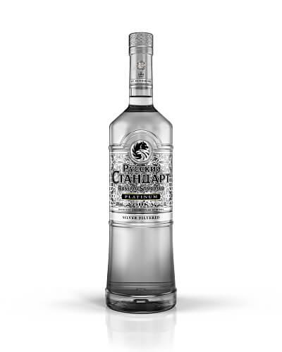 Russian Standard Platinum vodka 40% 1l