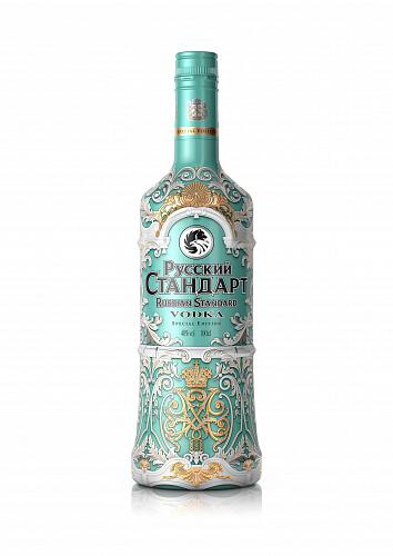 Russian Standard sleeve Hermitage edition vodka 40% 0,7l