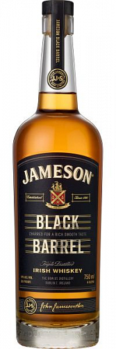 Jameson Black Barrel whisky 40% 0,7l