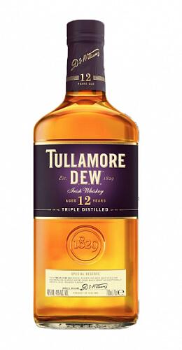 Tullamore Dew 12y whisky 40% 0,7l