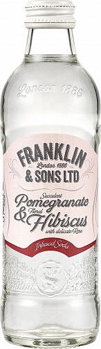 Franklin&Sons Granátové jablko, Ibištek a Ruža 0,275l