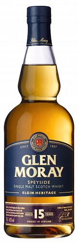 GLEN MORAY Heritage 15 YO Scotch Whisky 40% 0,7l