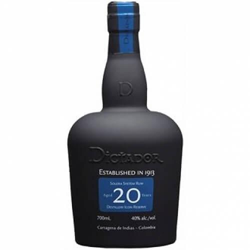 Dictador 20y rum 40% 0,7l