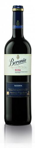 Beronia Rioja  Reserva červené víno 14% 2013 0,75l , ESP