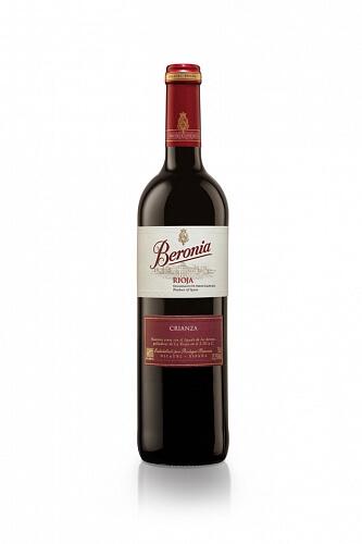 Beronia Rioja Crianza červené víno 13,5% 2015 0,75l , ESP