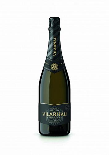 Vilarnau Cava Brut Nature Vintage Reserva Organic 2017 11,5% 0,75l ESP - biele šumivé víno