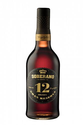Soberano 12 Brandy Gran Reserva  38% 0,7l