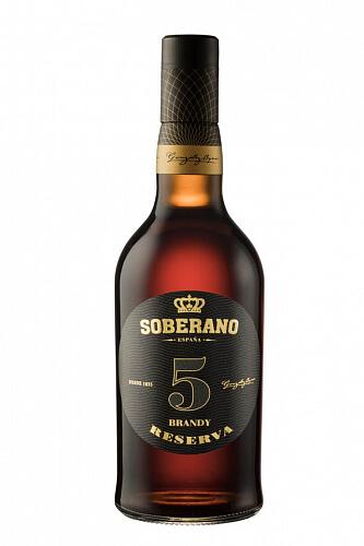 Soberano 5 Brandy Reserva 36% 0,7l
