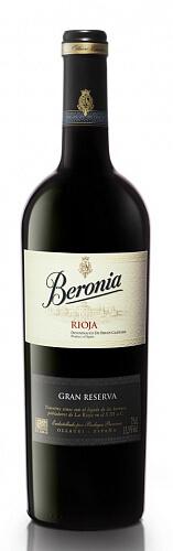 Beronia Rioja Gran Reserva červené víno 14% 2011 0,75l , ESP