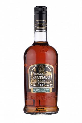 Santiago de Cuba Aňejo Superior 11 rum 40% 0,7l