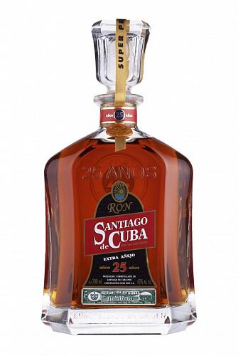 Santiago de Cuba Extra Aňejo 25 rum 40% 0,7l
