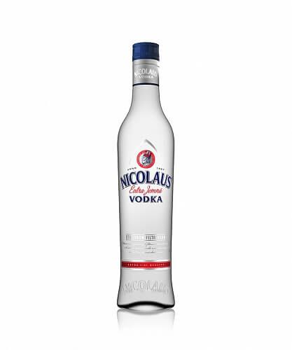 Nicolaus Vodka Extra Jemná 38% 0,5l