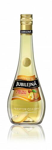 Jubilejná Hruška s medom 30% 0,7l