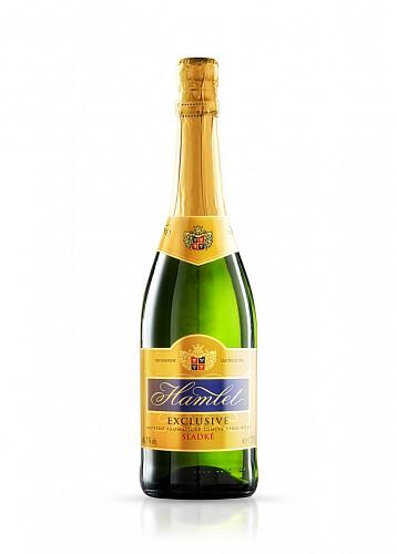 Hamlet Exclusive Sladké šumivé víno  7% 0,75l