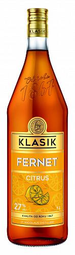 KLASIK Fernet Citrus likér 27% 1l