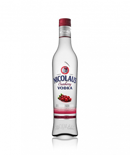Nicolaus Cranberry Vodka 38% 0,5l