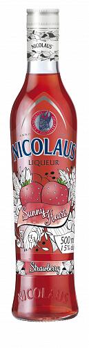 Nicolaus liqueur STRAWBERRY 15% 0,5l