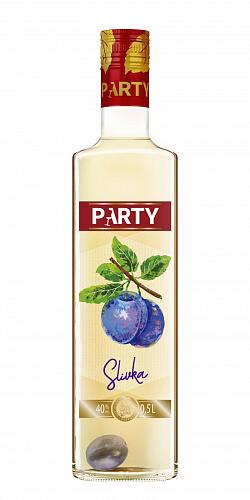 PARTY Slivka 40% 0,5l