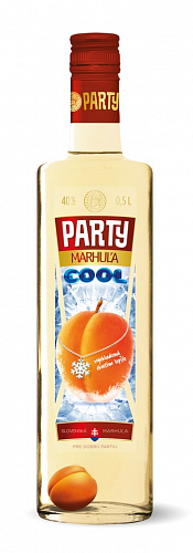 PARTY COOL Marhuľa 40% 0,5l