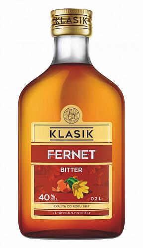 KLASIK Fernet Bitter likér 40% 0,2l