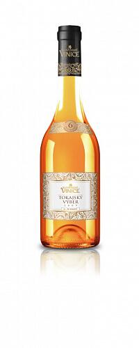 Slovenské Vinice Tokajský výber 6-putňový biele víno 2009 0,5l