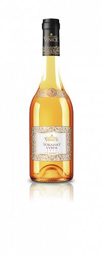 Slovenské Vinice Tokajský výber 5-putňový biele víno 2014 0,5l