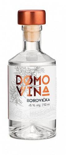 DOMOVINA Borovička 45% 0,05l