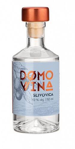 DOMOVINA Slivovica 52% 0,05l