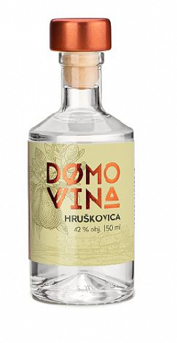 DOMOVINA Hruškovica 42% 0,05l