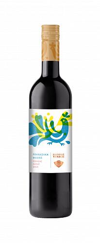 Slovenské Vinice Folk Frankovka modrá 2019, červené víno suché 0,75l