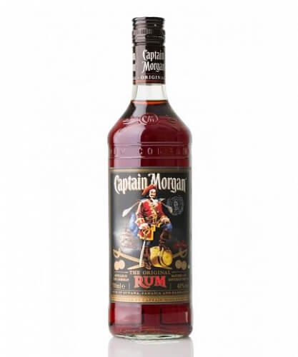Captain Morgan Black Rum 40% 0.7l