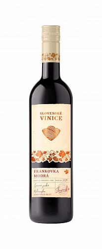 Slovenské Vinice Frankovka modrá 2019, červené suché 0,75l