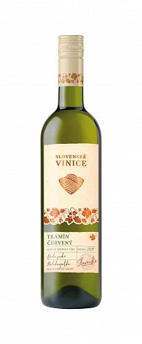 Slovenské Vinice Tramín červený 2019, biele suché 0,75l